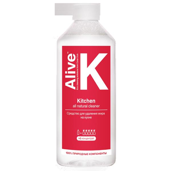 Купить Alive K Средство для удаления жира на кухне